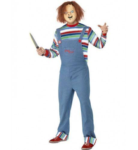 Halloween Chucky Man Kostuum