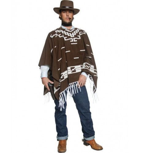 Westerse Wandering Gunman Man Kostuum