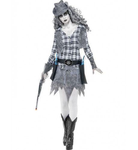 Halloween Cowgirl Vrouw Kostuum