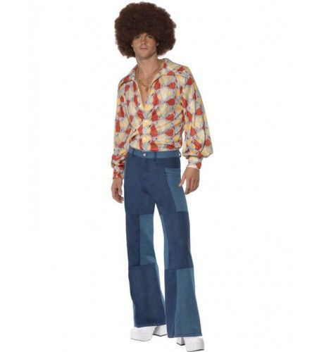 Heren 70s Outfit Man