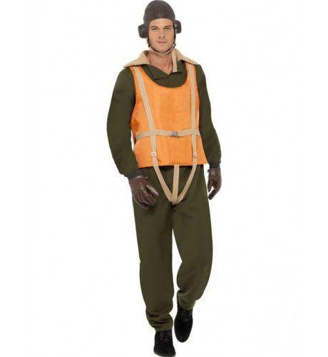 2e Wereldoorlog Piloot Man Kostuum