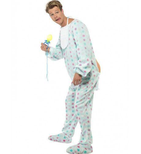 Volwassen Baby Kostuum Man