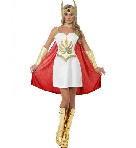 She-Ra Deluxe Vrouw Kostuum