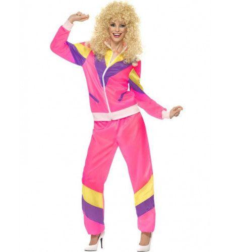 Roze Kamper Vrouw Kostuum