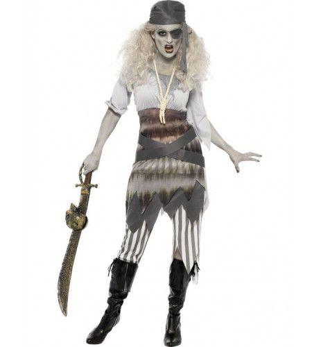 Vrouwen Piraat Halloween Vrouw Kostuum