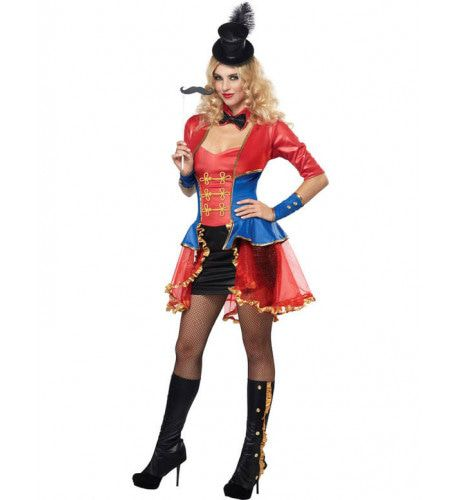 Vrouwelijke Circusdirecteur Vrouw Kostuum
