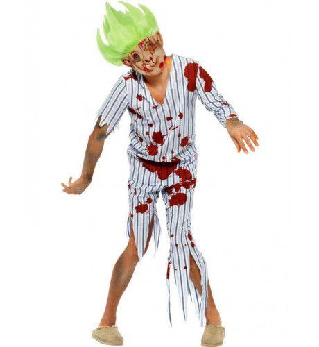 Zombie Troll Doll Kostuum Man