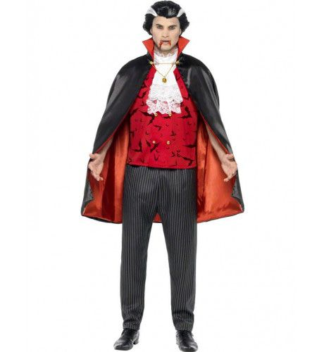 Traditioneel Dracula Man Kostuum