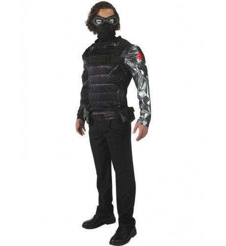 Bucky The Winter Soldier Van Captain America Deluxe Kostuum Man
