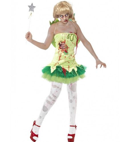 Volwassen Zombie Toverfee Kostuum Vrouw
