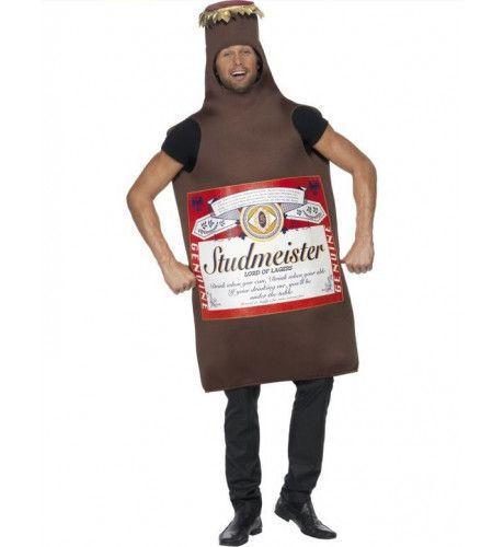 Studmeister Bierfles Man Kostuum