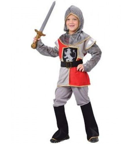 Middeleeuwse Ridder Jongen Kostuum