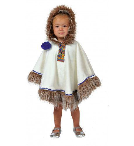 Baby Knuffelbare Eskimo Kind Kostuum