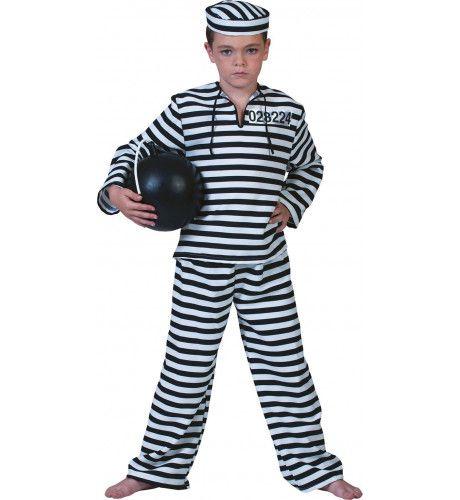 Water En Brood Gevangene Jongen Kostuum