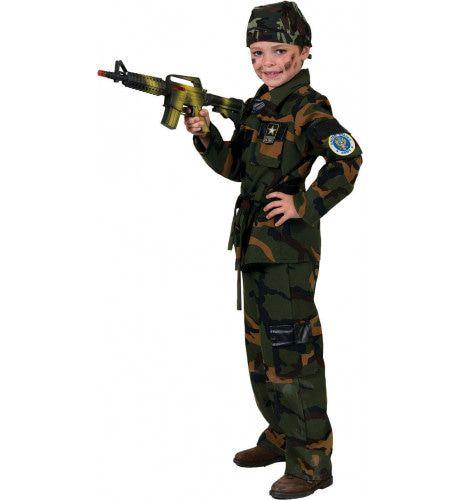 John Doe Militair Jongen Kostuum