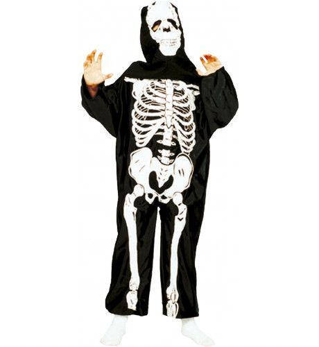Skeletorax Jongen Kostuum