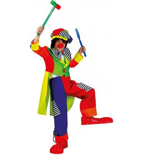 Olaffio Clown Jongen Kostuum