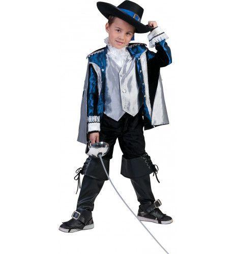 Musketier Mostadero Kostuum Jongen