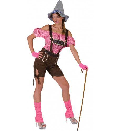Sexy Shorts Viktualienmarkt Vrouw Kostuum