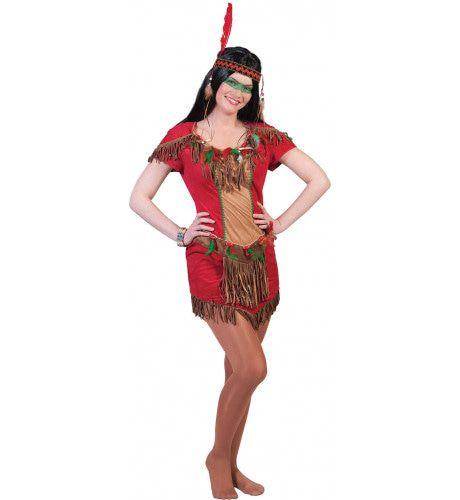 Red Hawk Vrouw Kostuum