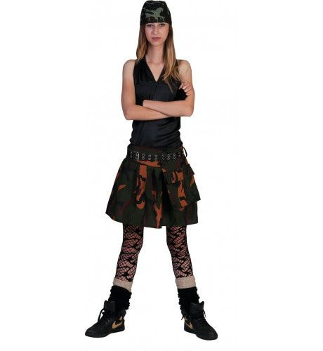 Commando Crazy Vrouw Kostuum