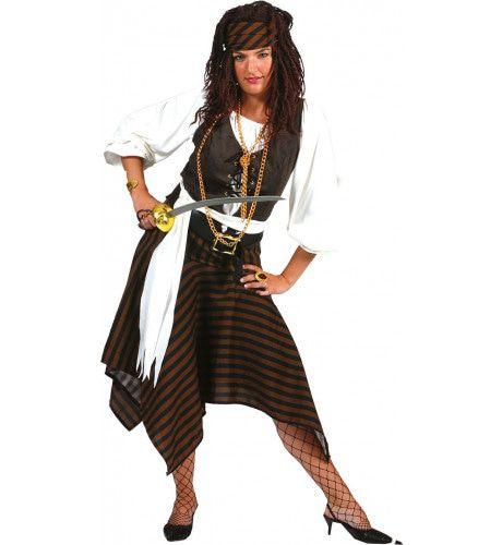 Piraat Rumvat Jurk Vrouw