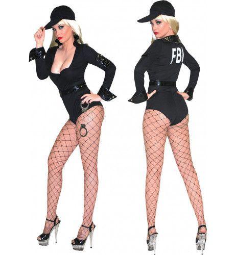 Fbi Arrest Vrouw Kostuum