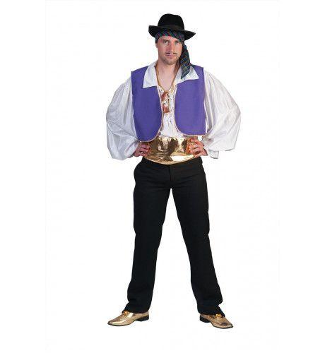 Zigeuner Man Bamboleo Kostuum