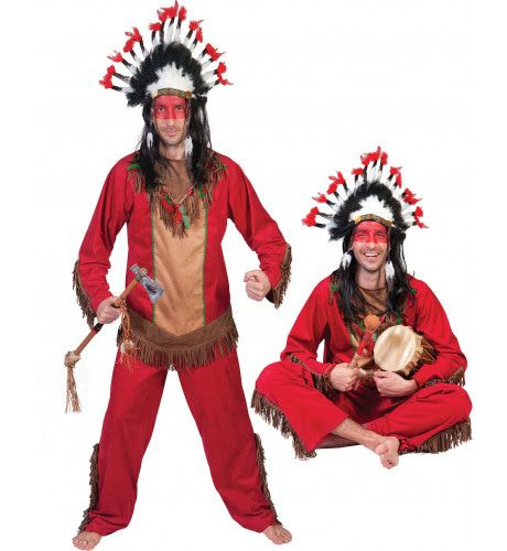 Red Hawk Man Kostuum