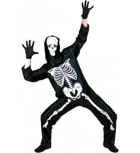 Skeletorax Man Kostuum
