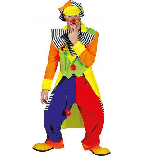 Olaffio Clown Man Kostuum