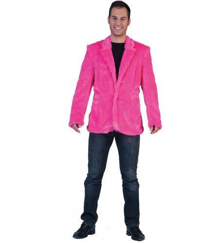 Fuzzy Jasje Roze Man