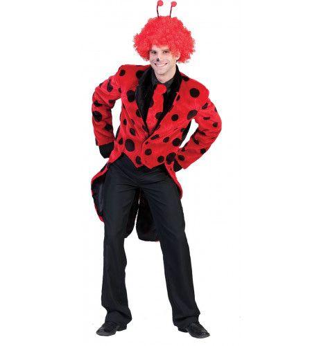 Buggy Lieveheersbeest Jas Man Kostuum