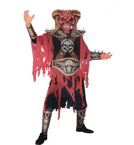 Strijdbare Duivel Man Kostuum