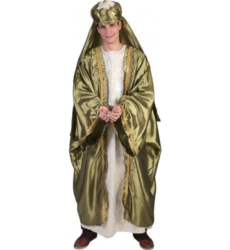 Koning Melchior Wijze Uit Het Oosten Man Kostuum