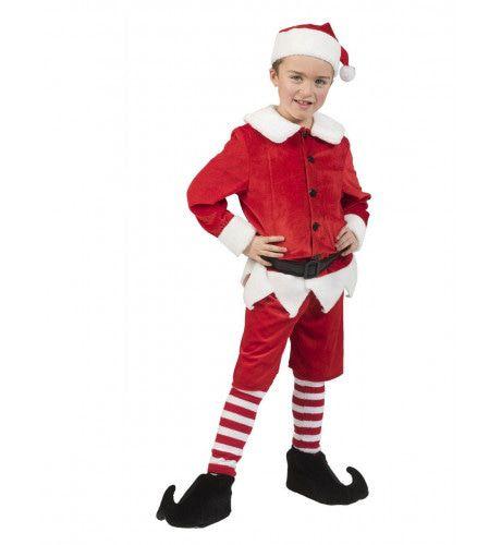 Kerstelf Kenny Hulp Van De Kerstman Kind Kostuum