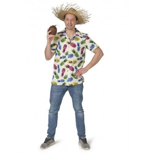 Tropisch Samba Costa Rica Ananas Shirt Man