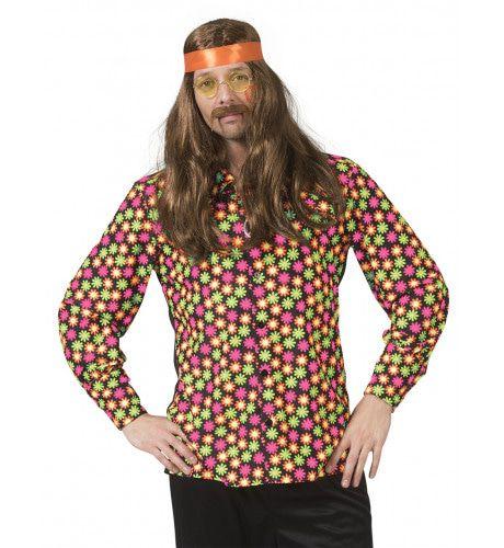 Fluor Flower Power Goes Disco Shirt Man