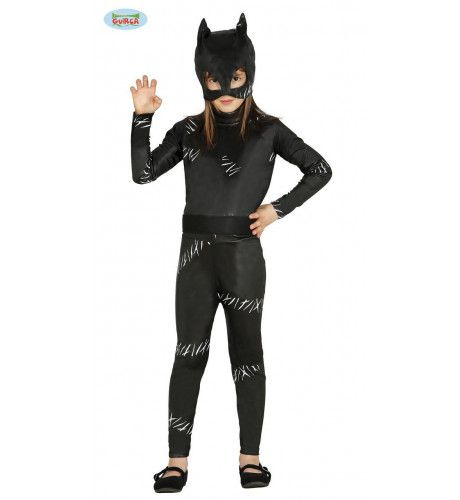 Zwarte Kat Meisje Kostuum