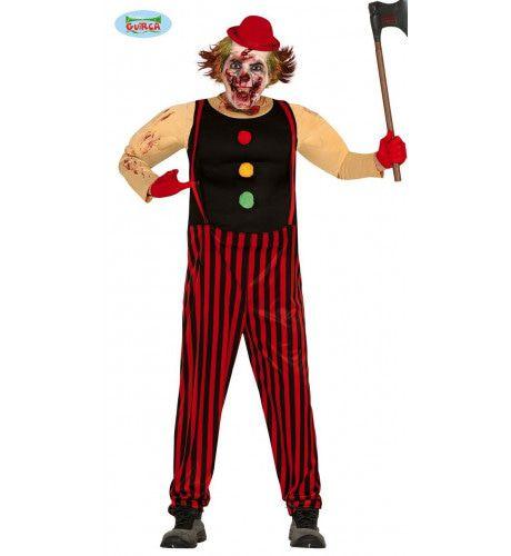 Helemaal Niet Grappige Killer Clown Man Kostuum