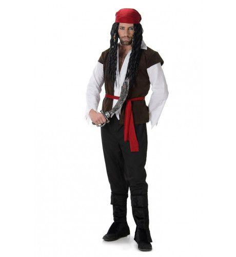 Bartholomew Roberts Zeerover Hoofdman Kostuum