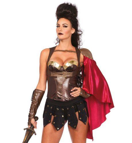 Romeinse Pantser Bustier Vrouw