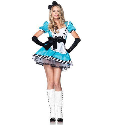 Alice Sexy In Haar Onschuld Vrouw Kostuum