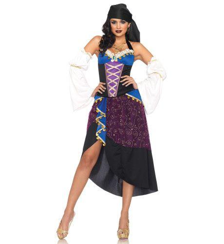 Sexy Tarotkaarten Lezeres Rok Set Vrouw Kostuum