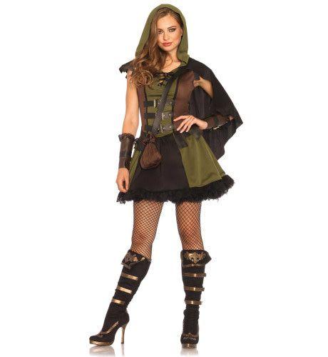 Sexy Vrouwelijke Robin Hood Jurk
