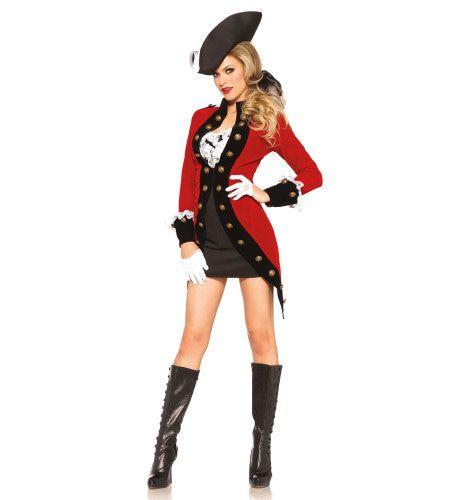 Royale Pirate Sexy Kostuum Vrouw