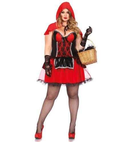 Shapewear Stoute Sprookjes Roodkapje (Plus Size) Vrouw Kostuum