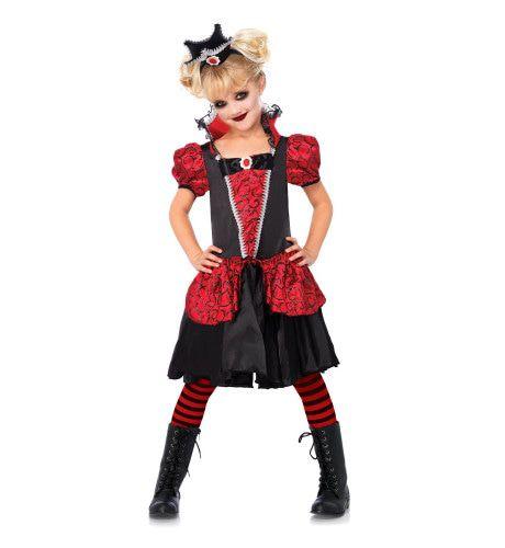 Meisjes Vampierjurk Ms Bloody