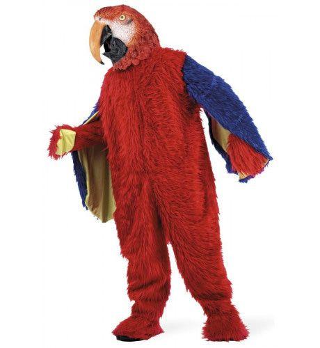 Luxe Amazone Papegaai Tropisch Regenwoud Kostuum