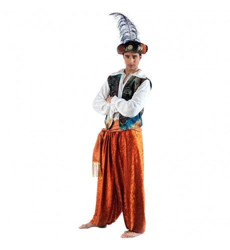 Oosterse Sprookjes Prins Emiraten Man Kostuum